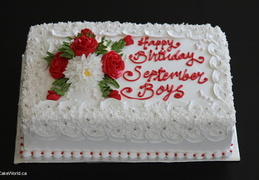 Sep boys bunch Cake