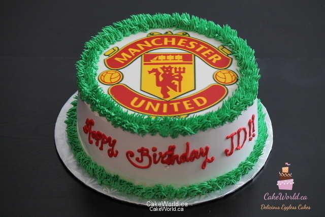 manchester united photo cake 2070 cake world delicious egg less cakes for every occasion cake world